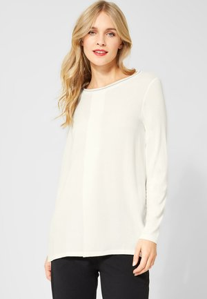 MIT GLITZER - Long sleeved top - off-white