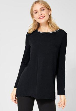 MIT GLITZER - Long sleeved top - black