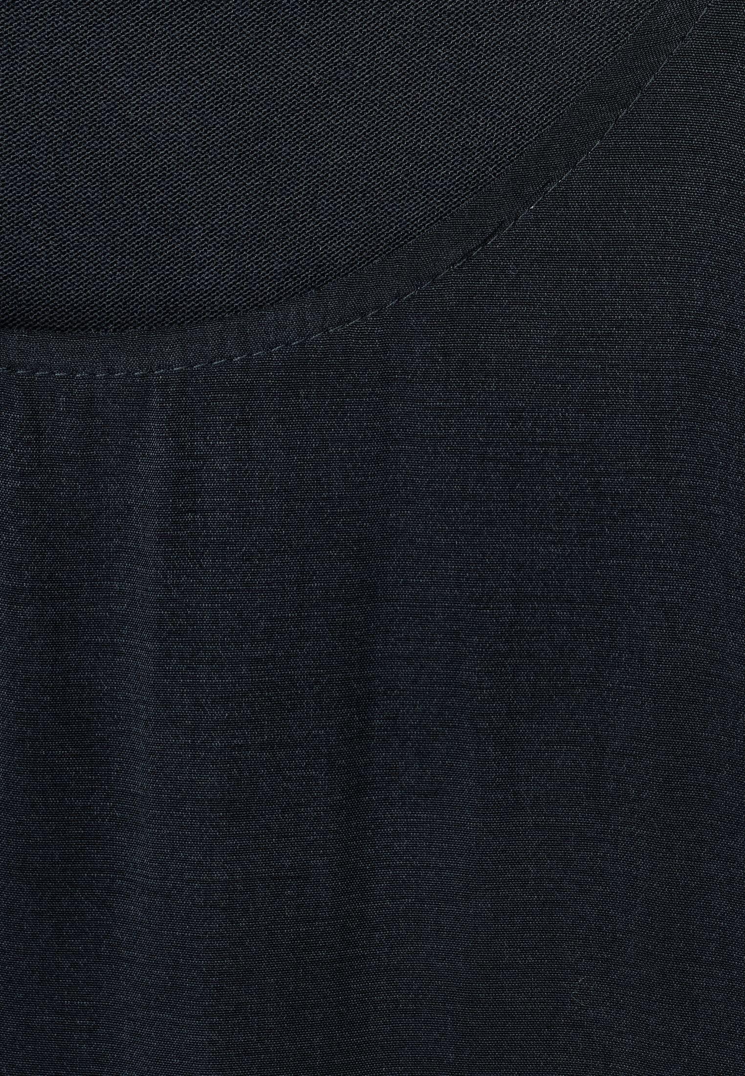 Street One Mit Saum-detail - Long Sleeved Top Dark Grey