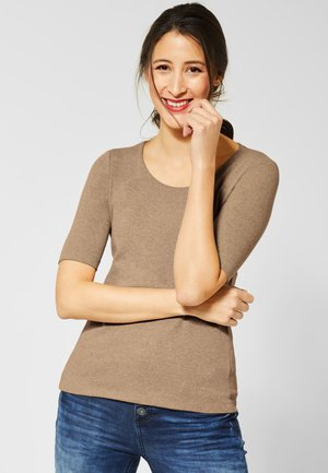 PANIA - Basic T-shirt - beige