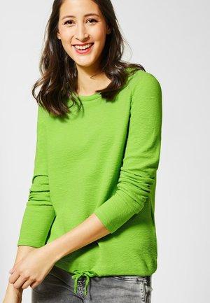 GESINA MIT 3D KRAGEN - T-shirt à manches longues - green