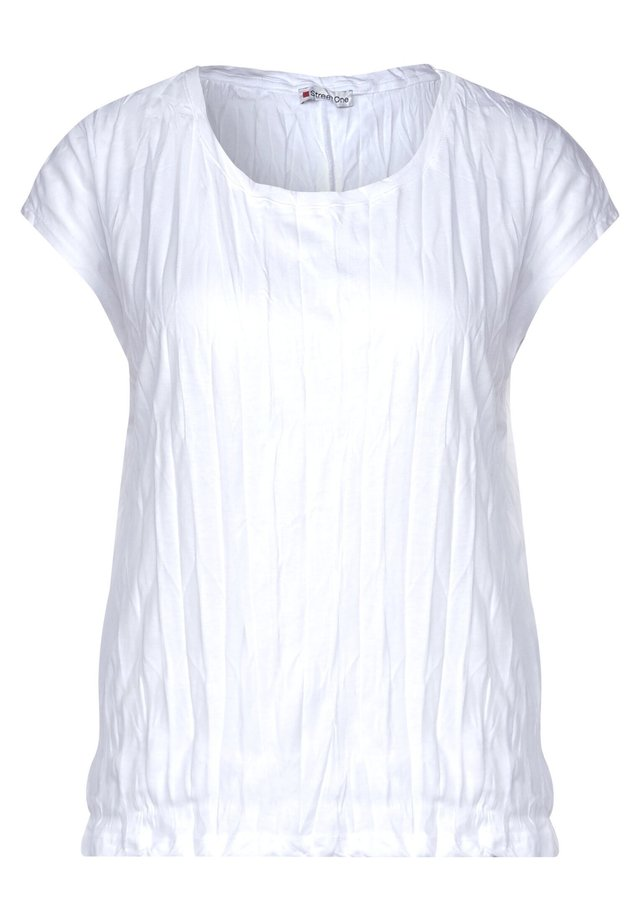 CRASH-EFFEKT - T-Shirt basic - weiß