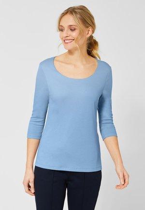 PANIA - Long sleeved top - blue