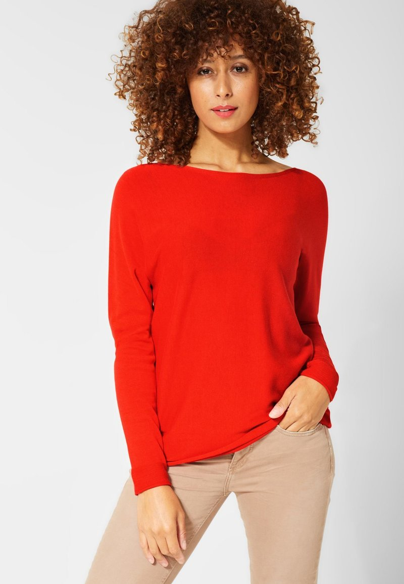 Street One - NOREEN - Jumper - red