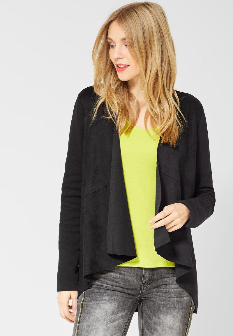 Street One - Summer jacket - black