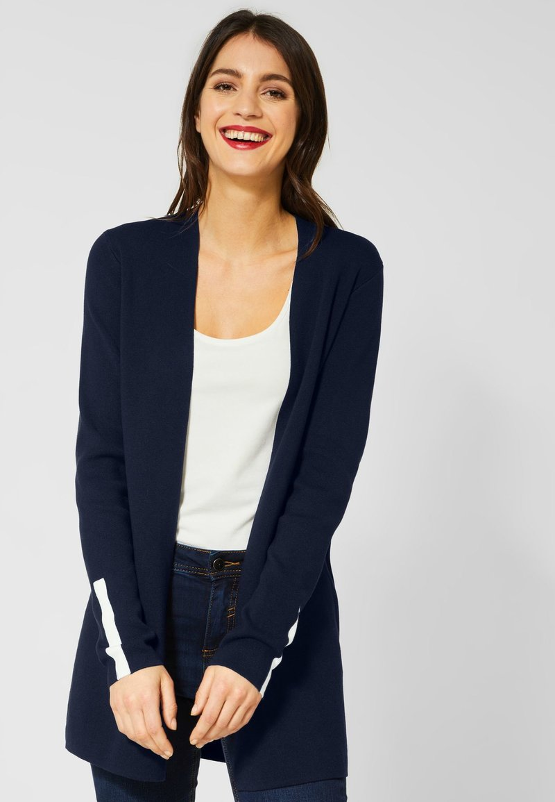 Street One - Cardigan - dark blue