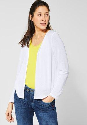 NETTE - Cardigan - white