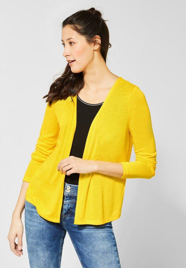 NETTE - Strickjacke - yellow