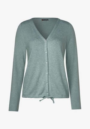 JESKA - Strickjacke - green