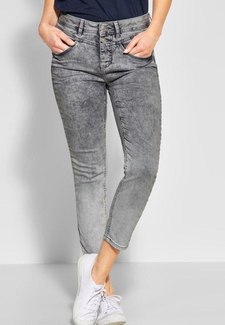 Street One - YORK - Jeans Slim Fit - grey