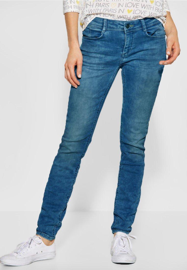 Street One - YORK - Slim fit jeans - blue
