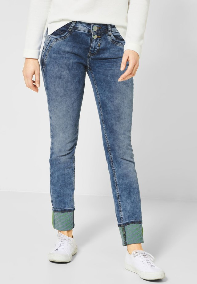 JANE - Slim fit jeans - blue