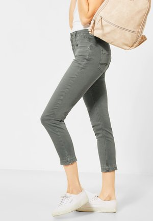 Slim fit jeans - grün