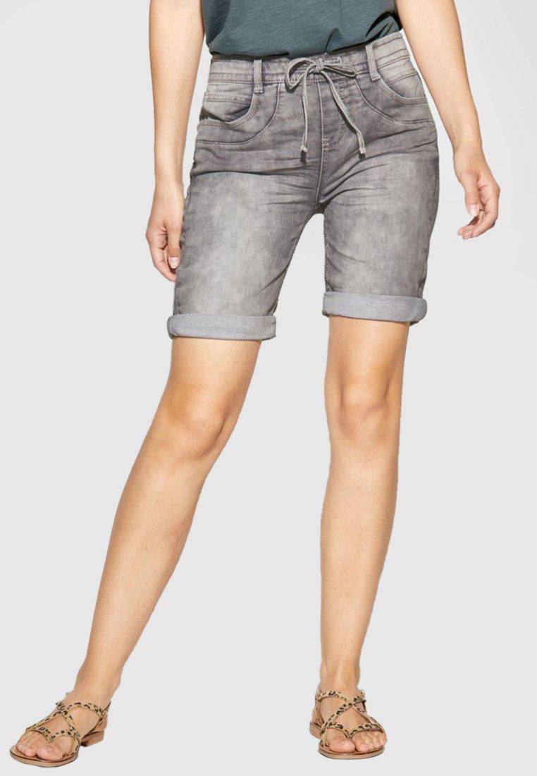 Street One - Jeans Shorts - grey denim