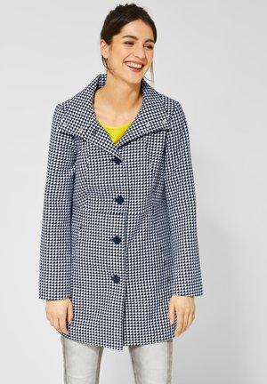 MIT DESSIN - Short coat - dark blue