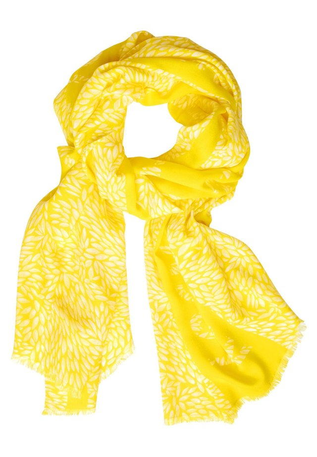 MIT MINIMAL MUSTER - Scarf - gelb