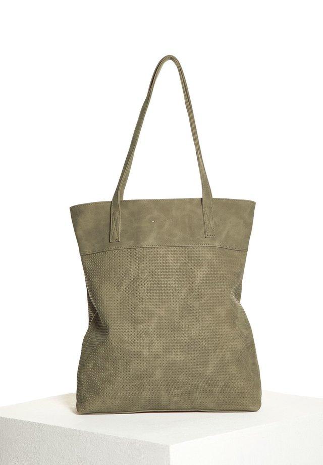 MIT STRUKTUR - Shopping Bag - grün
