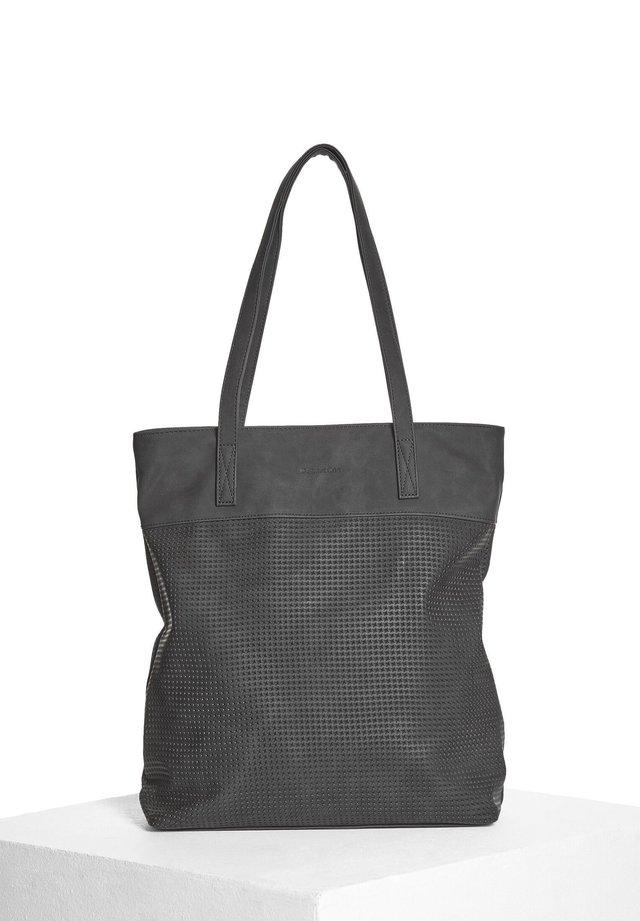 MIT STRUKTUR - Tote bag - schwarz