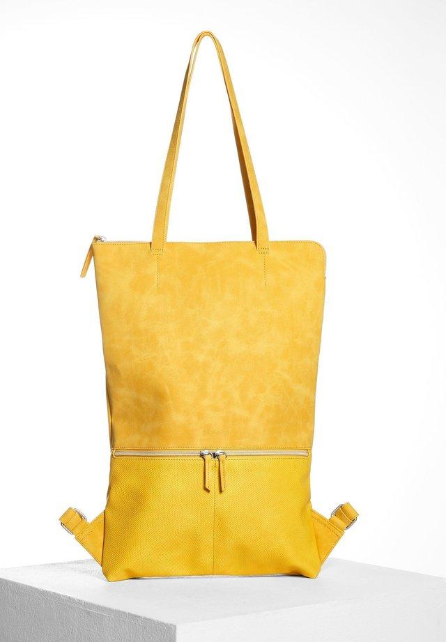 Rucksack - gelb