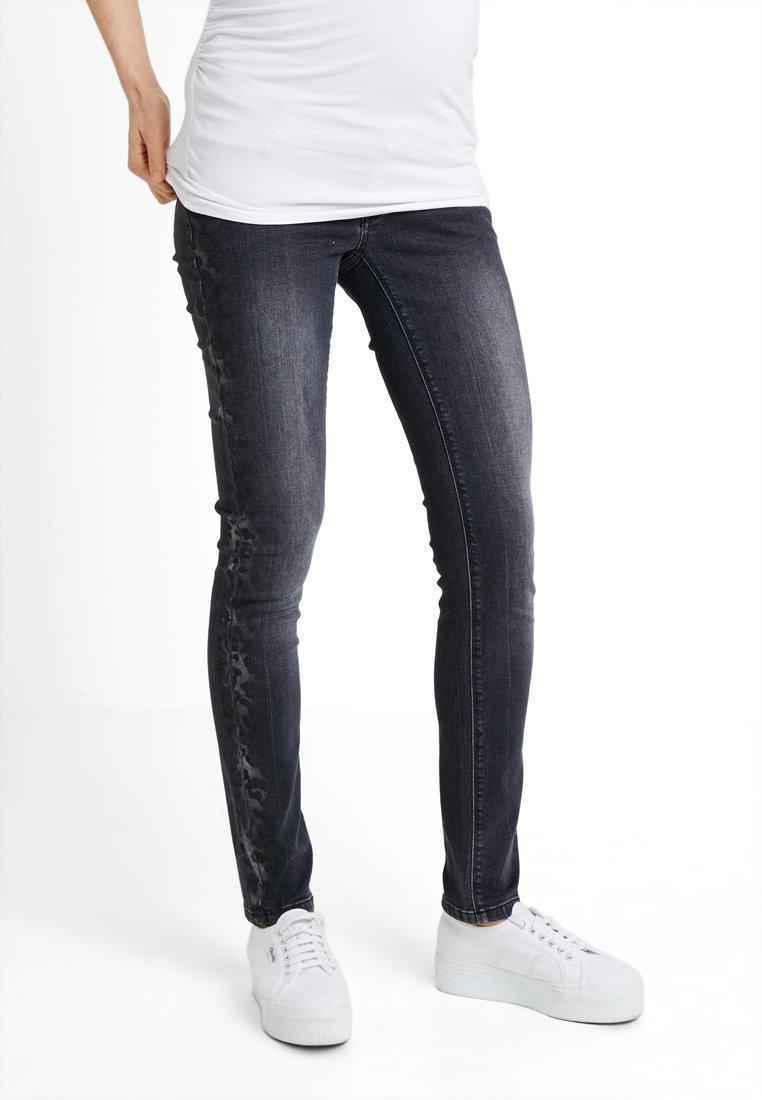 Supermom - WASHED - Jeans Skinny Fit - black denim