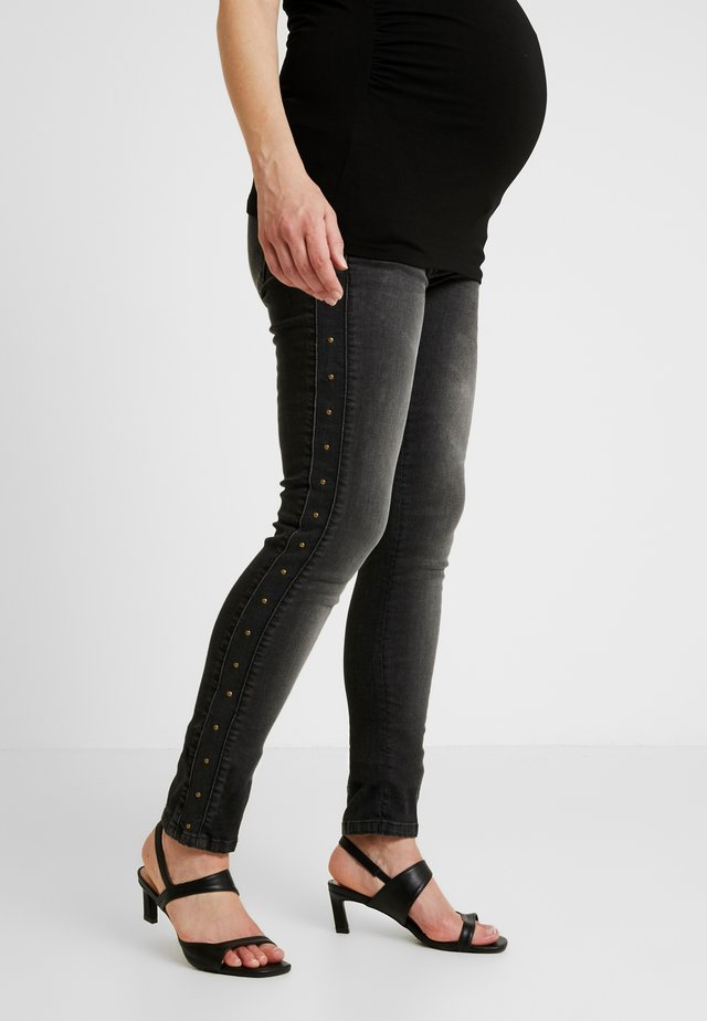 STUDS - Jeans Skinny Fit - washed black