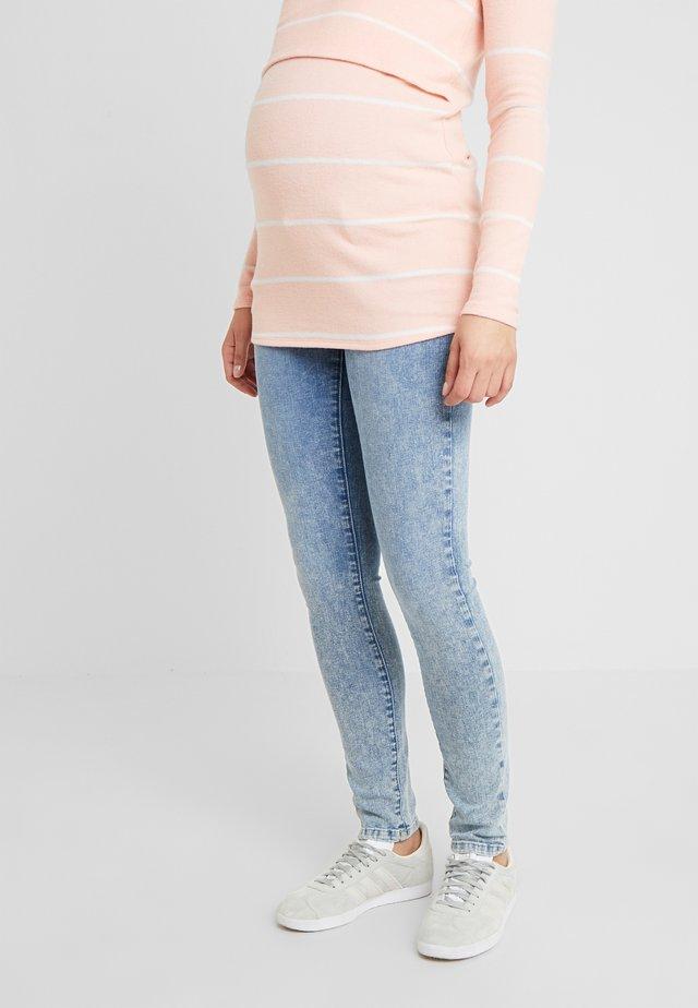 Slim fit jeans - acid blue