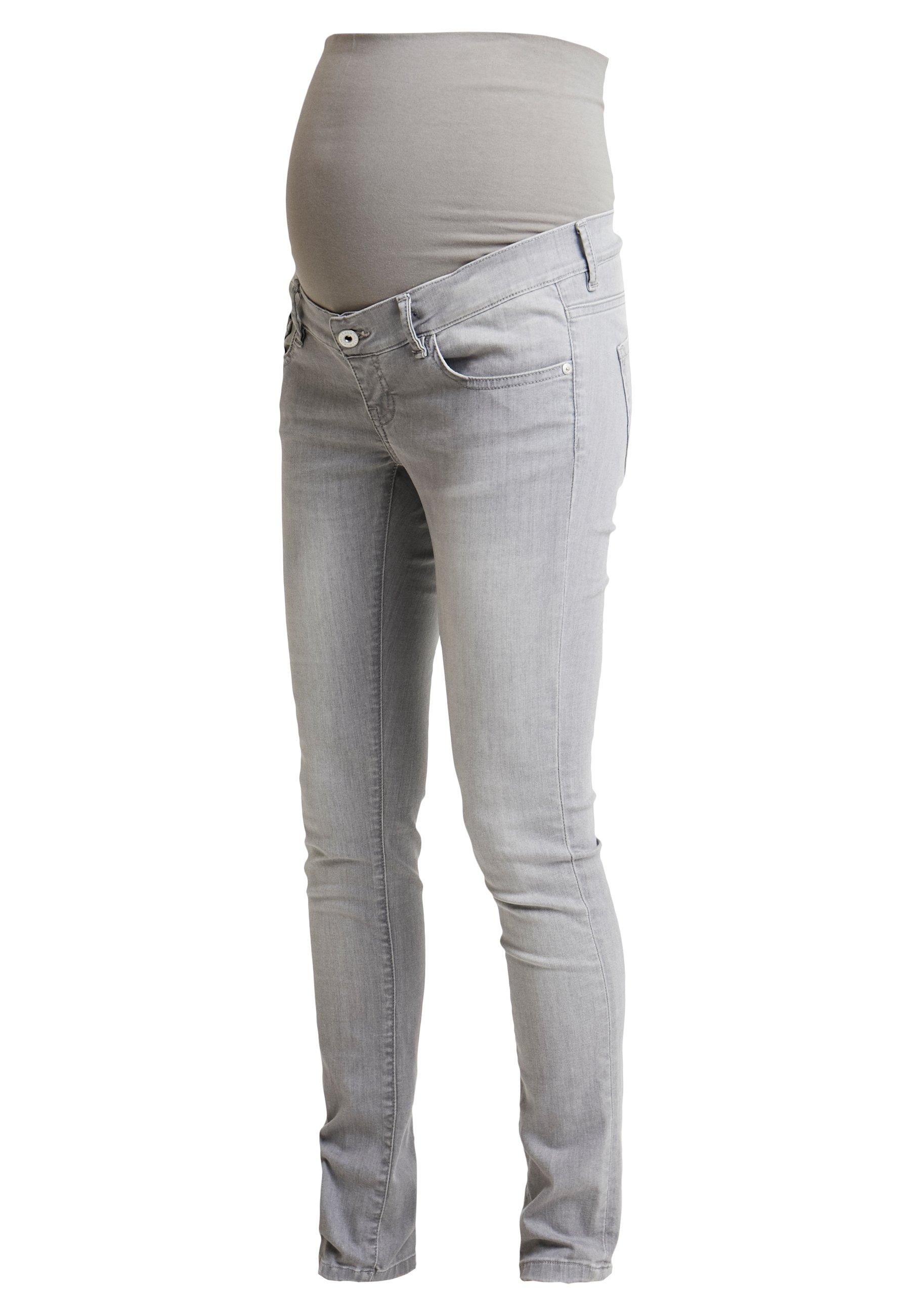 Supermom Jeansy Slim Fit - light aged grey