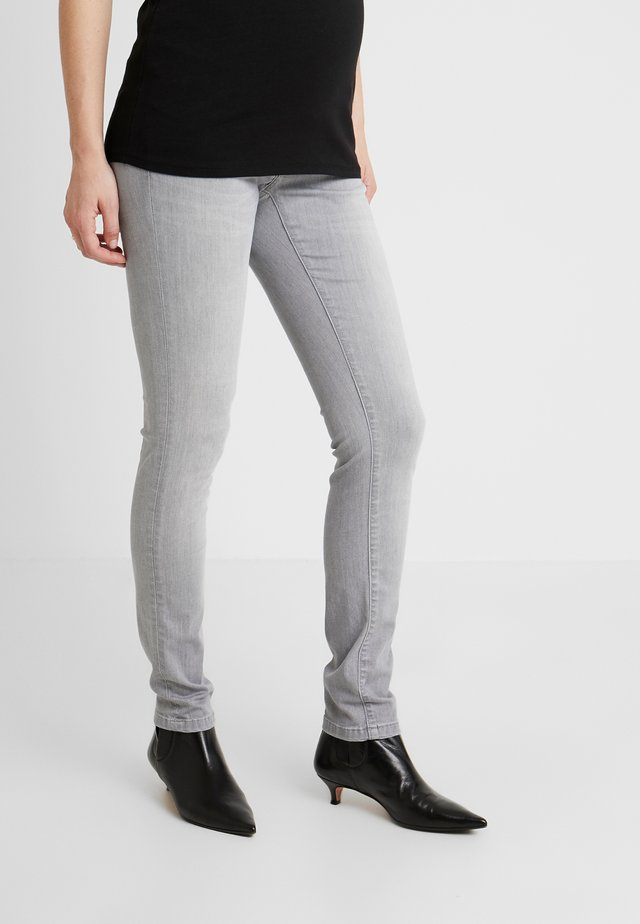 Džíny Slim Fit - light aged grey