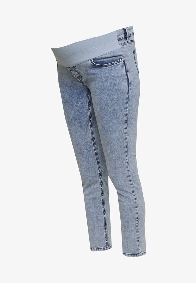 Jeansy Skinny Fit - acid blue