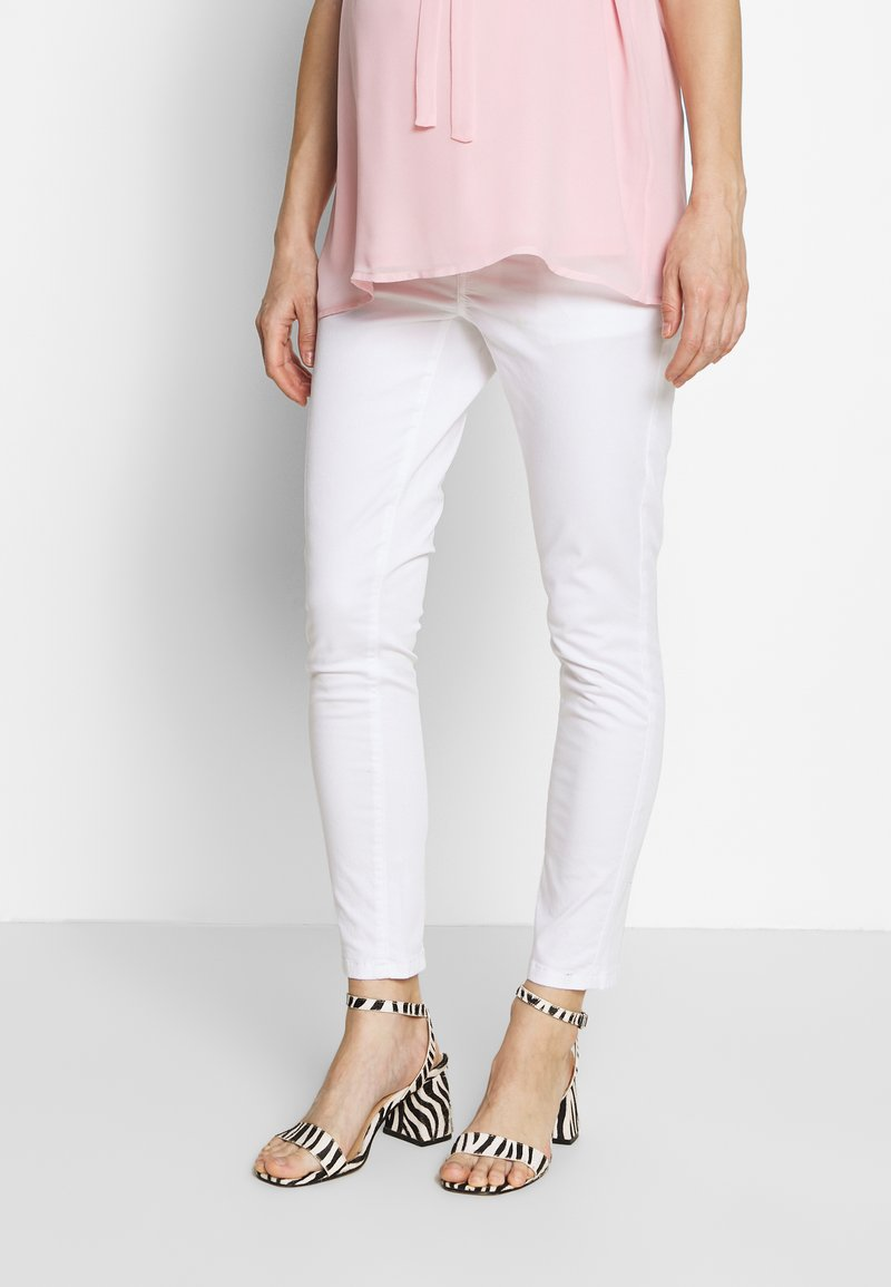 Supermom - Jeans Skinny Fit - optical white