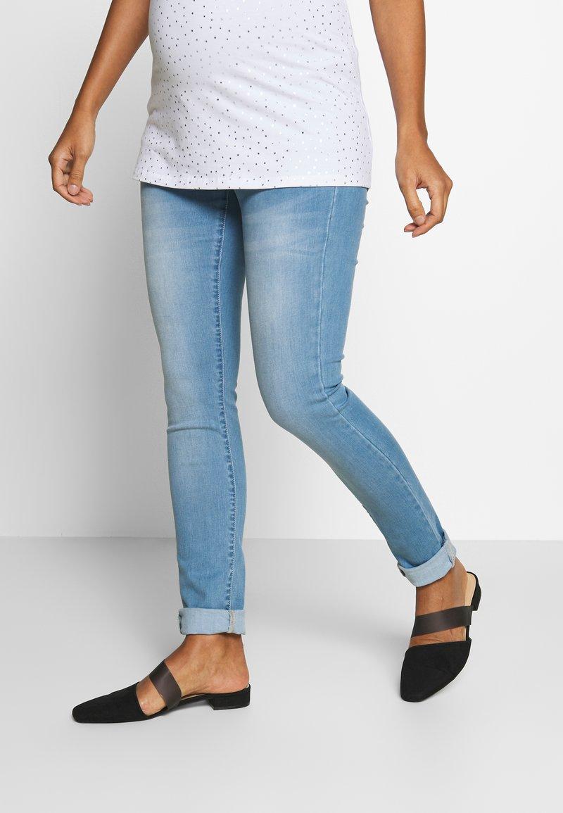 Supermom - Skinny džíny - light blue denim
