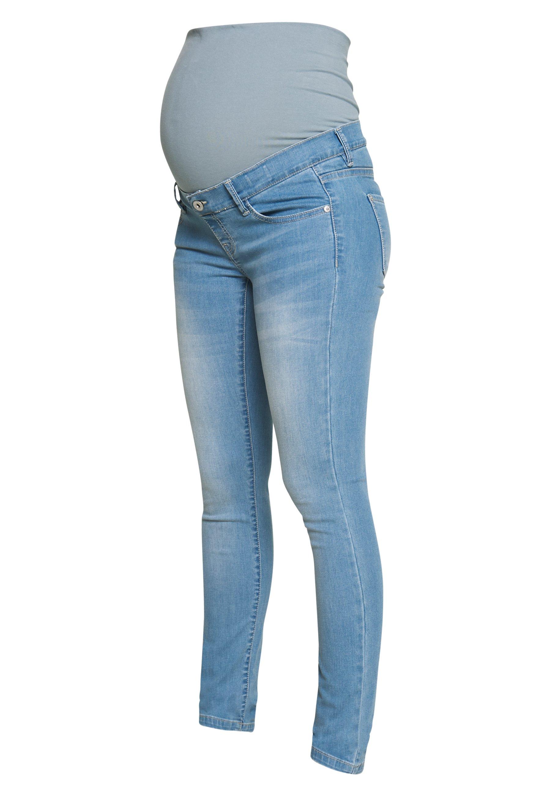 Supermom Jeansy Skinny Fit - light blue denim