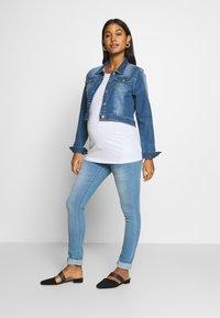 Supermom - Skinny džíny - light blue denim - 1
