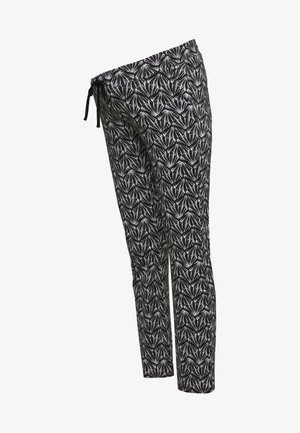 PANTS SHELL - Trousers - black