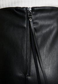 Supermom - SKIRT - Falda de tubo - black - 4