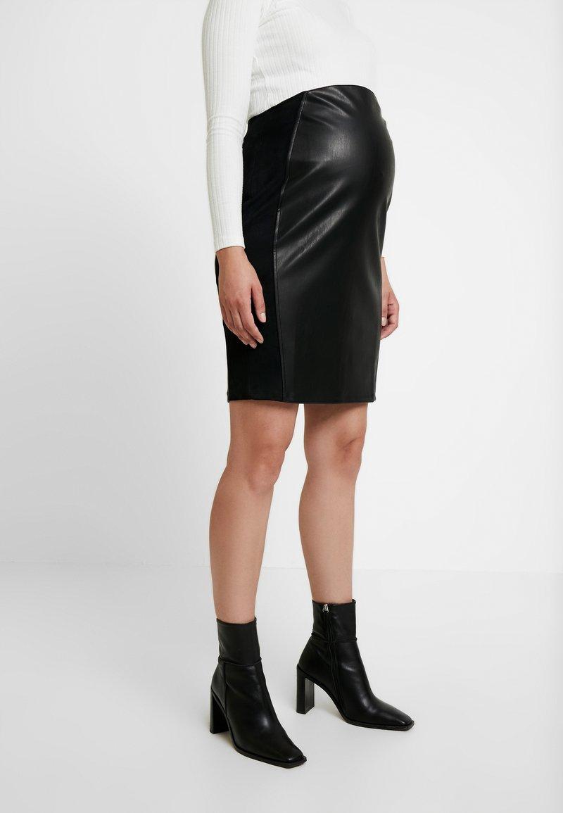 Supermom - SKIRT - Falda de tubo - black