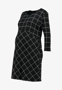 Supermom - DRESS 3/4 EASY  - Jerseykjole - black - 3
