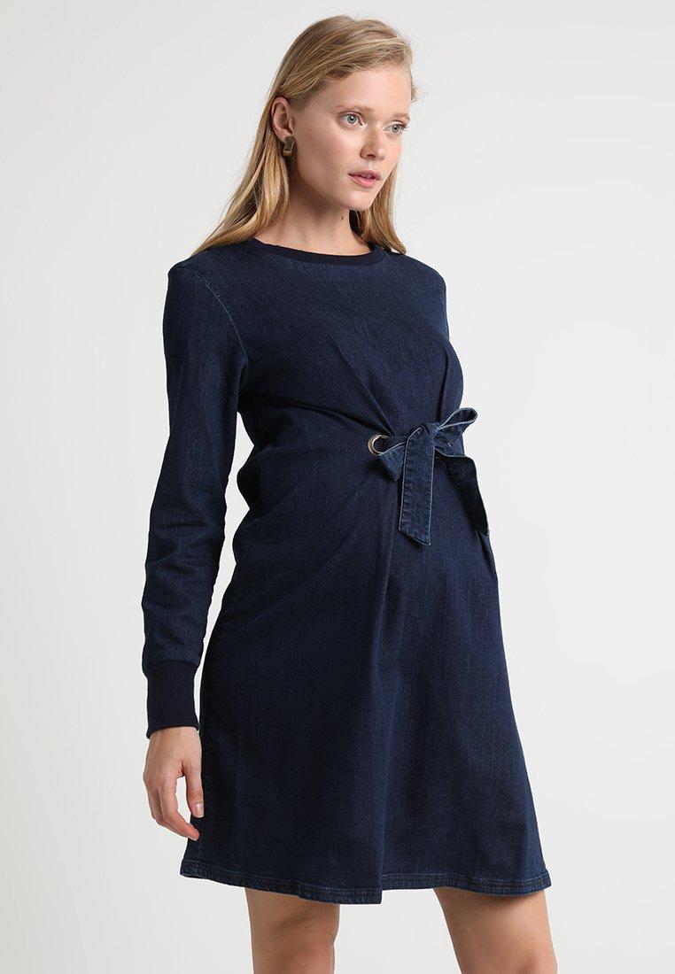 Supermom - DRESS - Denim dress - dark blue