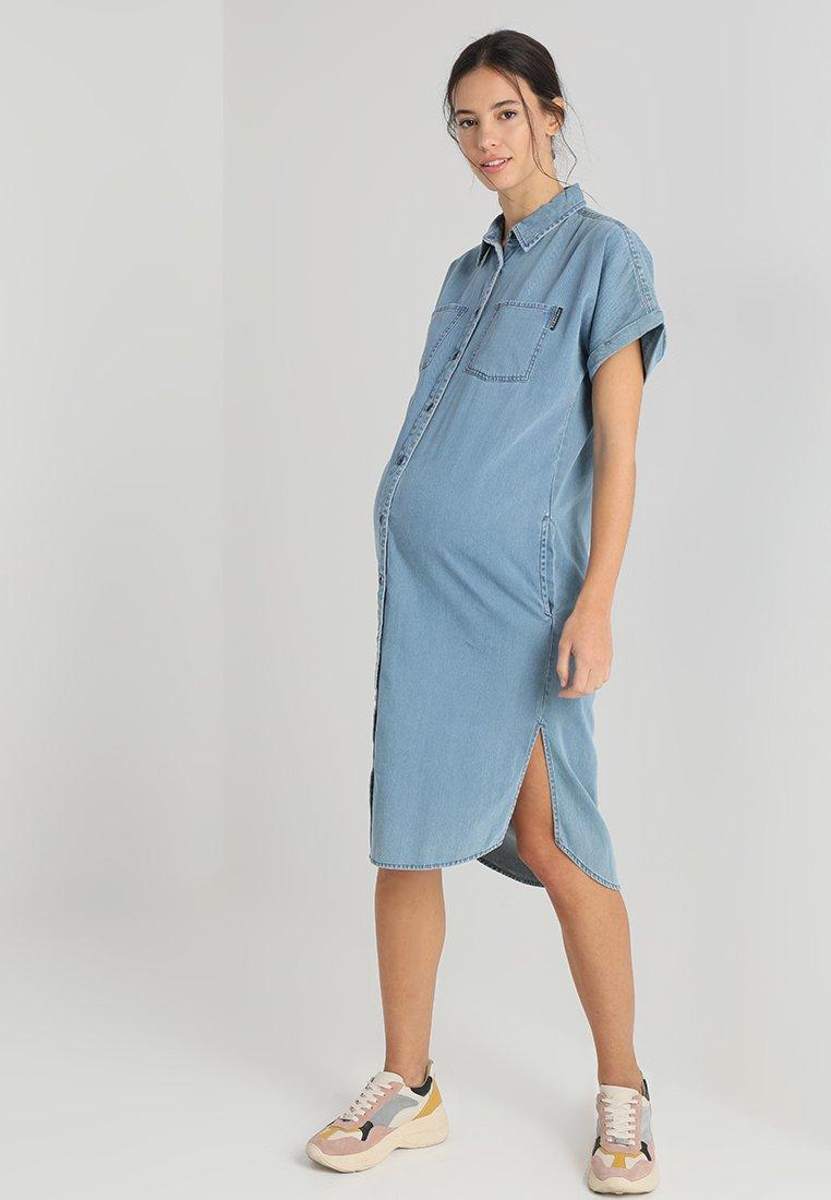 Supermom - DRESS - Jeanskleid - mid blue denim