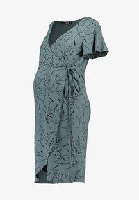Supermom - DRESS LINES - Žerzejové šaty - balsam green - 5
