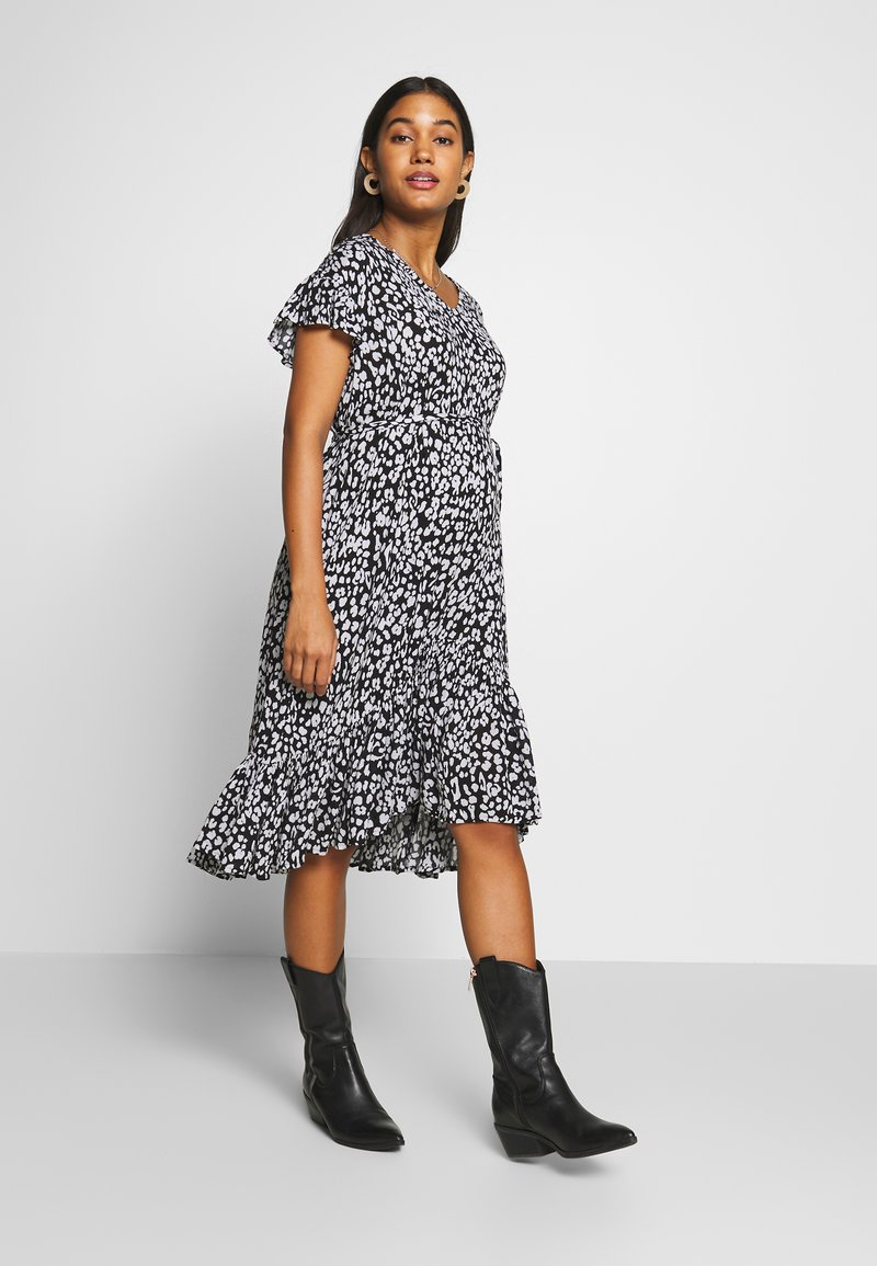 Supermom - DRESS LEOPARD - Vardagsklänning - black