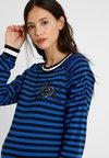 Supermom - STRIPED - Bluzka z długim rękawem - blue