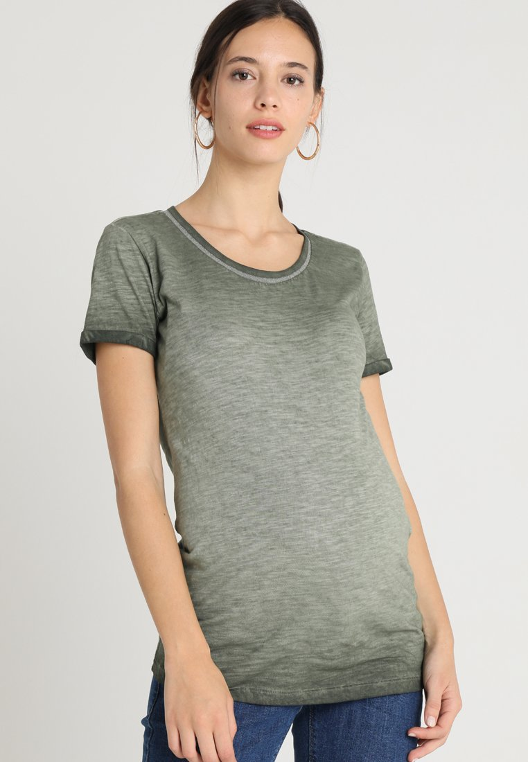 Supermom - TEE WASHED - T-shirt print - army