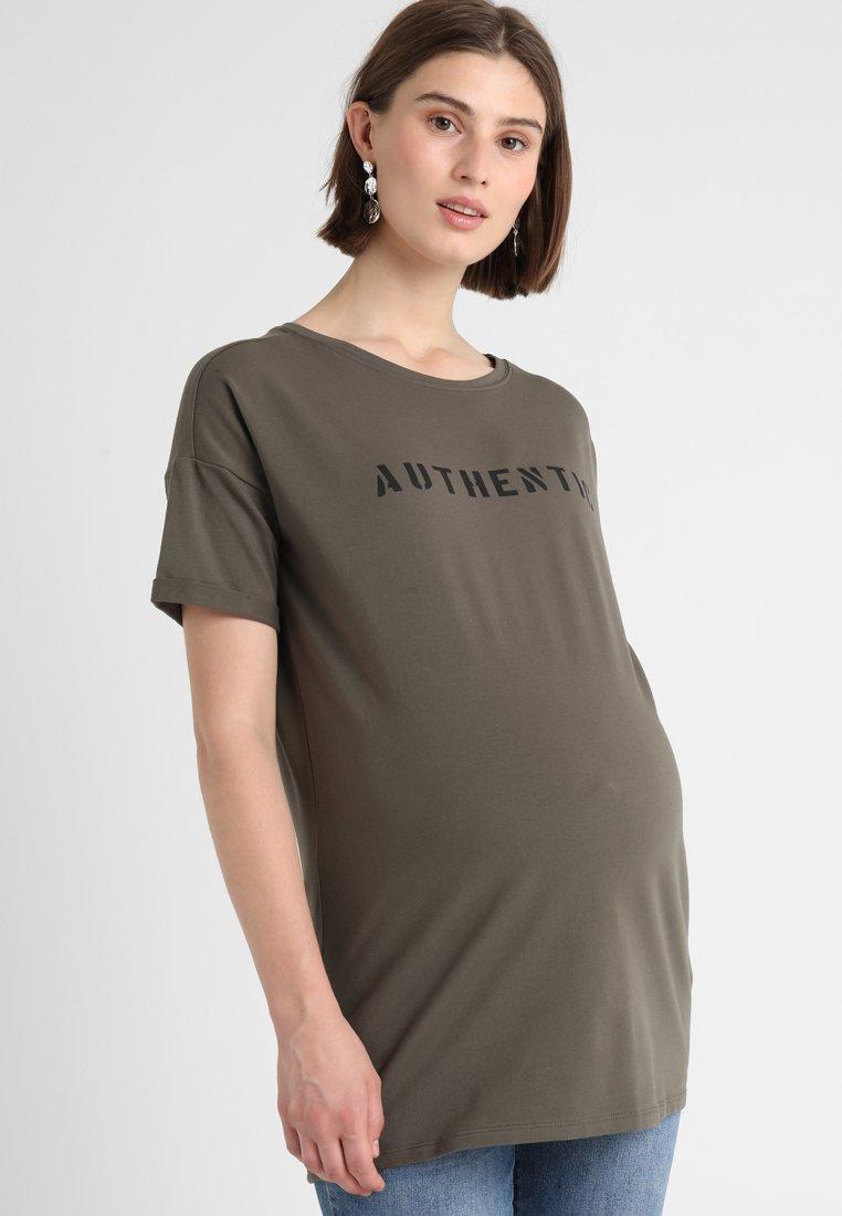 Supermom - TEE SLOGAN - T-Shirt print - army