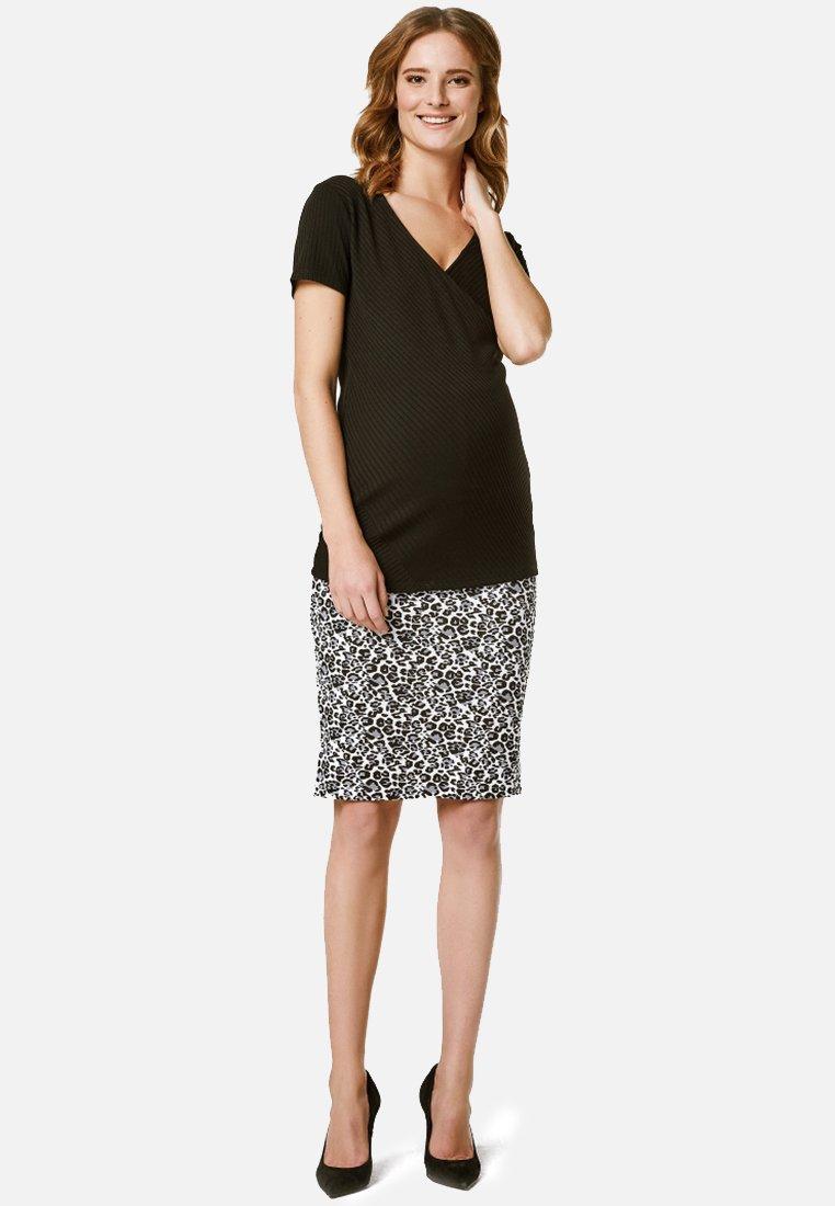 Supermom - Print T-shirt - black