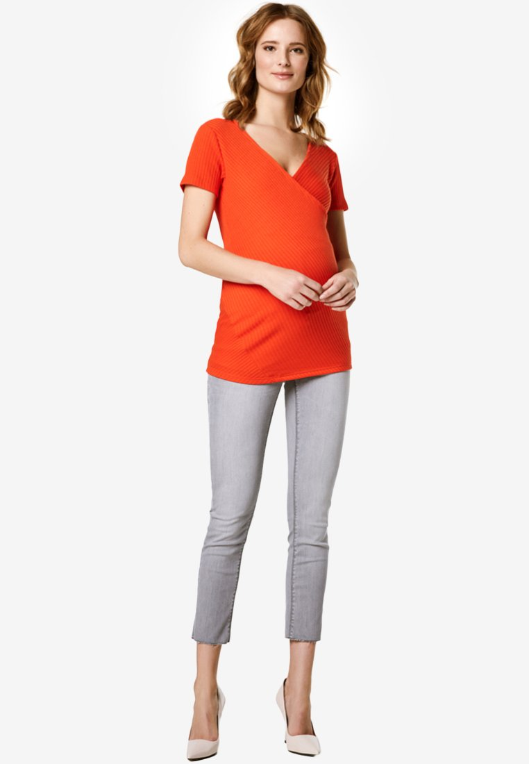 Supermom - T-Shirt print - orange