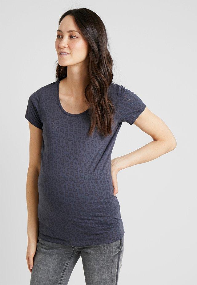 TEE ANIMAL - T-Shirt print - ash grey