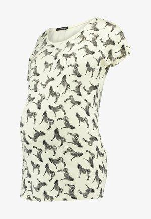 TEE ZEBRA - Camiseta estampada - pastel yellow