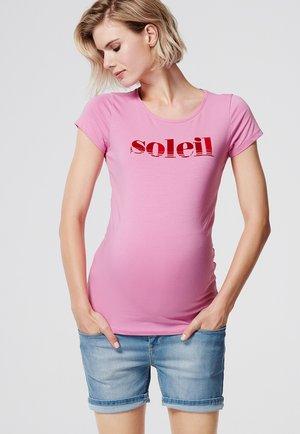 SOLEIL - T-shirt print - rosebloom
