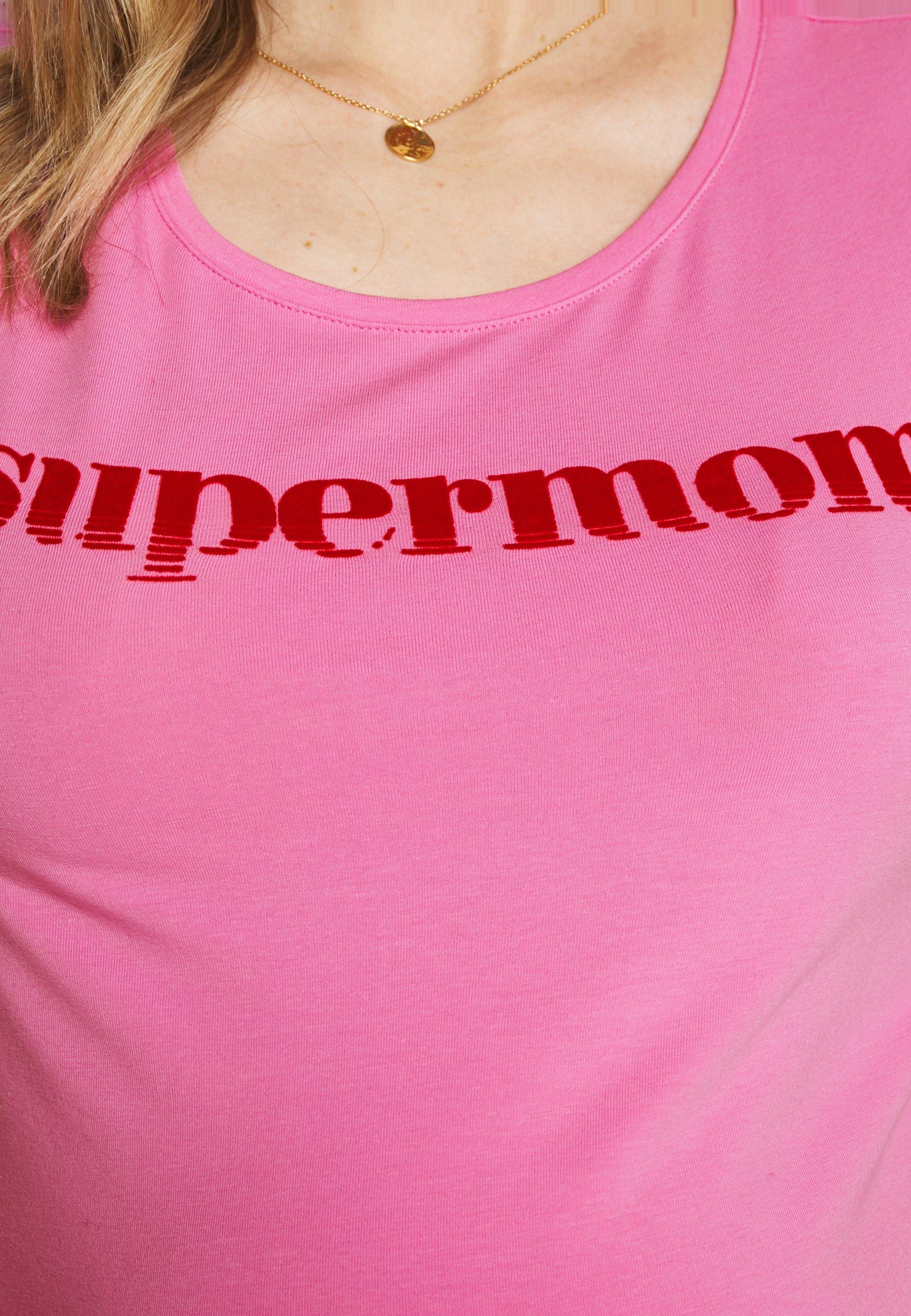 Supermom SUPERMOM - T-shirts med print - rosebloom